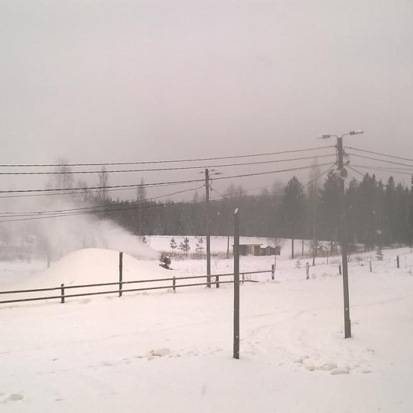 Bötombergen i dag 20.1.16 snö......stadion...